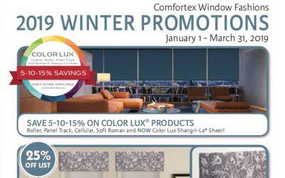 Comfortex Promotion